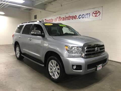 2014 Toyota Sequoia for sale in Braintree MA