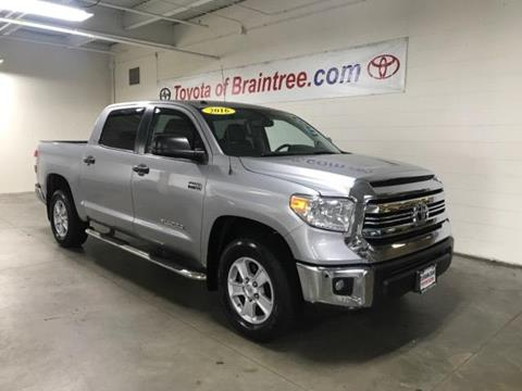 2016 Toyota Tundra for sale in Braintree MA