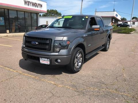 2014 Ford F-150 for sale in Braintree MA