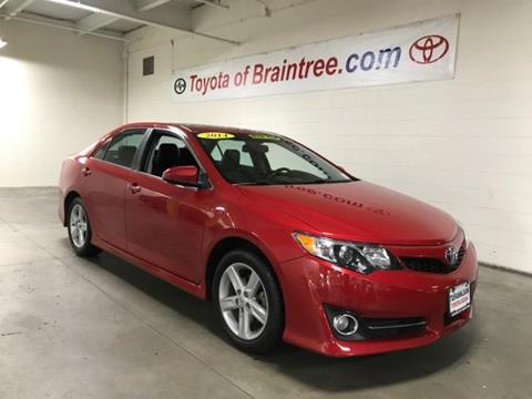 2014 Toyota Camry for sale in Braintree MA