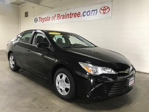 2016 Toyota Camry for sale in Braintree MA