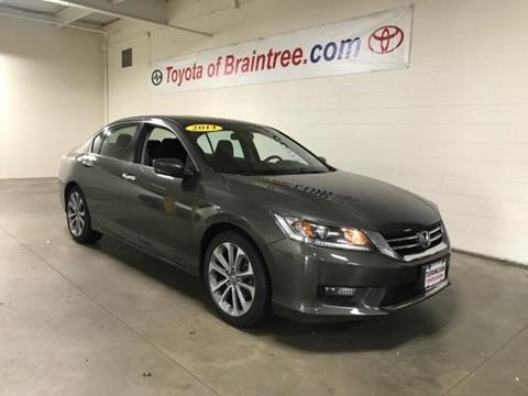 2014 Honda Accord for sale in Braintree MA