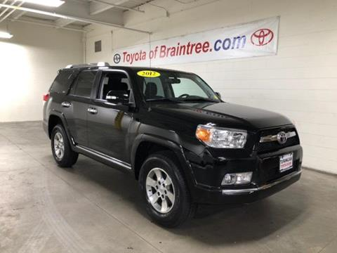 2012 Toyota 4Runner for sale in Braintree MA