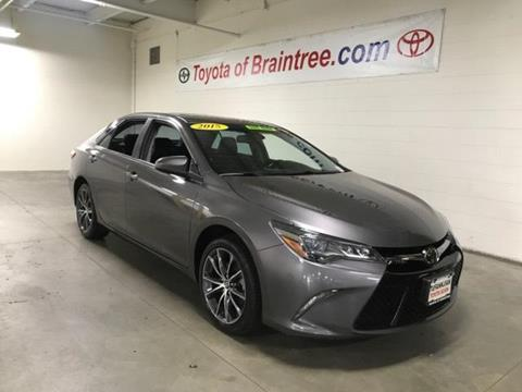 2015 Toyota Camry for sale in Braintree MA