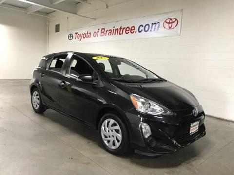 2015 Toyota Prius c for sale in Braintree MA