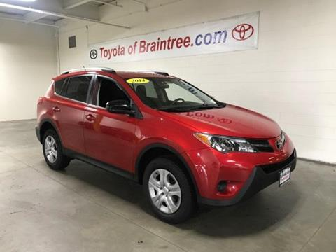 2014 Toyota RAV4 for sale in Braintree MA