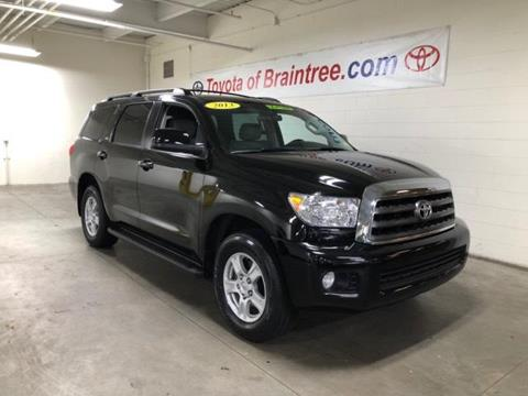 2013 Toyota Sequoia for sale in Braintree MA