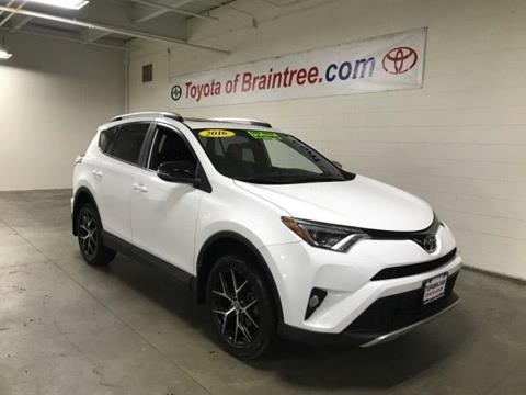 2016 Toyota RAV4 for sale in Braintree MA