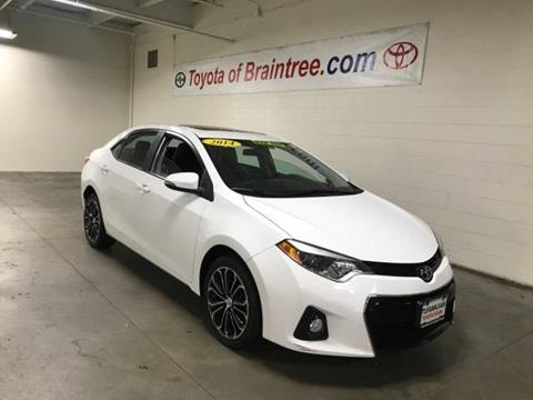 2014 Toyota Corolla for sale in Braintree MA