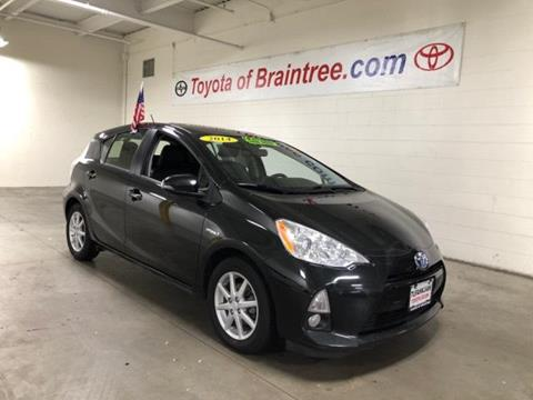 2014 Toyota Prius c for sale in Braintree MA