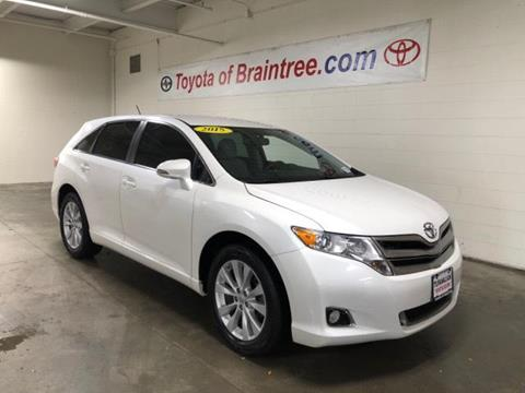 2015 Toyota Venza for sale in Braintree MA