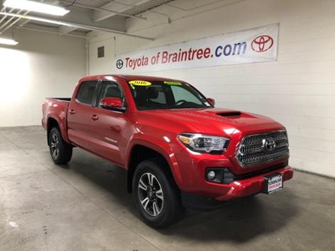 2016 Toyota Tacoma for sale in Braintree MA