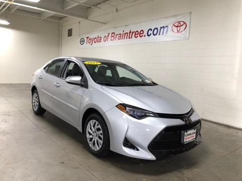 2017 Toyota Corolla for sale in Braintree, MA