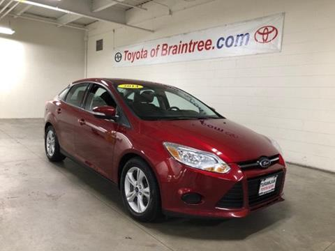 2014 Ford Focus for sale in Braintree MA