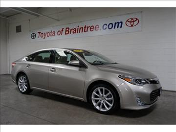 2013 Toyota Avalon for sale in Braintree, MA
