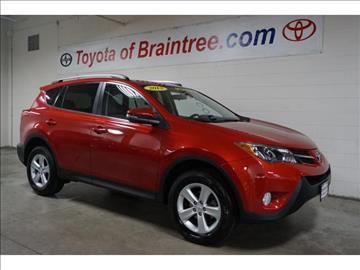 2013 Toyota RAV4 for sale in Braintree, MA