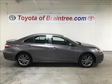 2016 Toyota Camry for sale in Braintree, MA