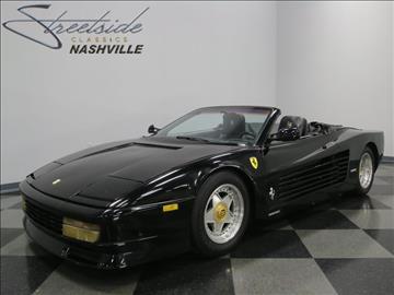1987 Pontiac Fiero for sale in La Vergne, TN