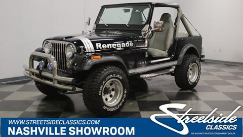 1982 Jeep CJ-7 for sale in La Vergne, TN