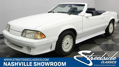 1987 Ford Mustang for sale in La Vergne, TN