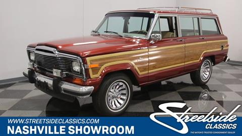 1984 Jeep Grand Wagoneer for sale in La Vergne, TN