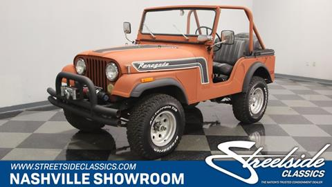1974 Jeep CJ-5 for sale in La Vergne, TN