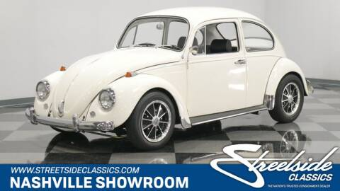 1967 Volkswagen Beetle for sale at Streetside Classic Cars - La Vergne in La Vergne TN