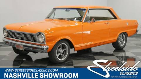 1965 Chevrolet Nova for sale at Streetside Classic Cars - La Vergne in La Vergne TN