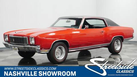 Used 1971 Chevrolet Monte Carlo For Sale Carsforsale Com
