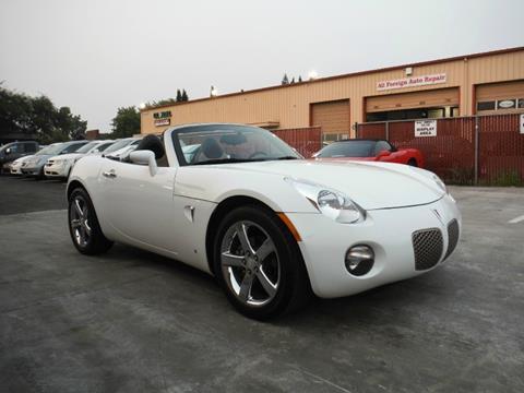 2008 Pontiac Solstice for sale in Sacramento, CA