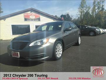2012 Chrysler 200 for sale in N Syracuse, NY