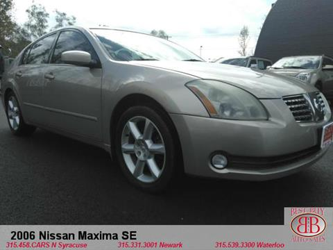 2006 Nissan Maxima for sale in N Syracuse, NY
