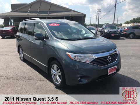 Used 2011 Nissan Quest For Sale In New York Carsforsale