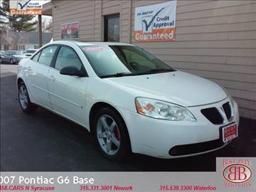 2007 Pontiac G6 for sale in Waterloo, NY