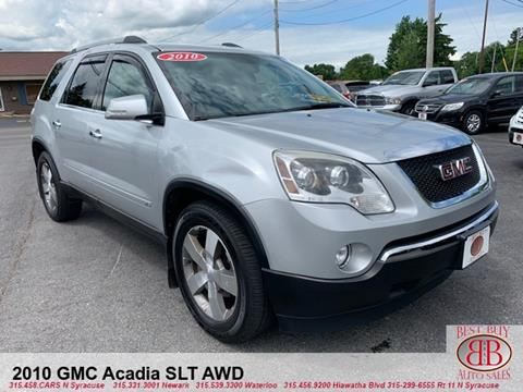 2010 GMC Acadia for sale in Waterloo, NY