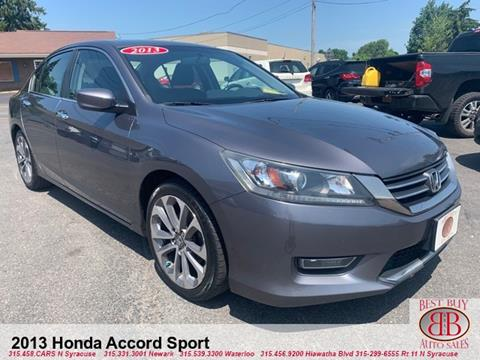 2013 Honda Accord for sale in Waterloo, NY