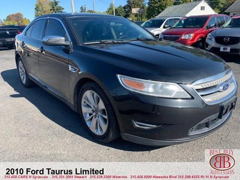 2010 Ford Taurus for sale in Waterloo, NY