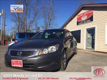 2009 Honda Accord for sale in Waterloo, NY