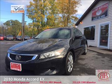 2010 Honda Accord for sale in Waterloo, NY