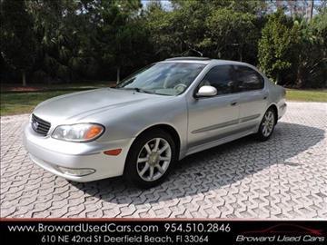 2002 Infiniti I35 for sale in Deerfield Beach, FL