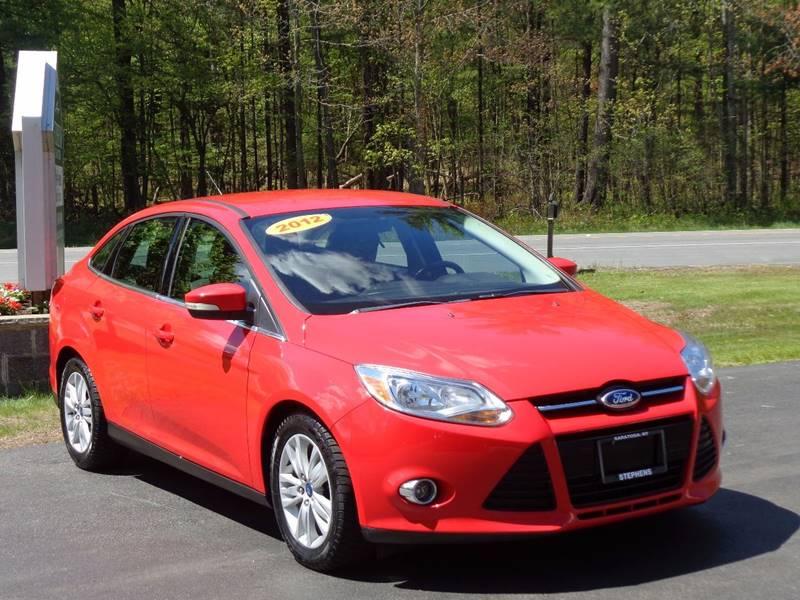 2012 Ford Focus SEL 4dr Sedan - Saratoga Springs NY