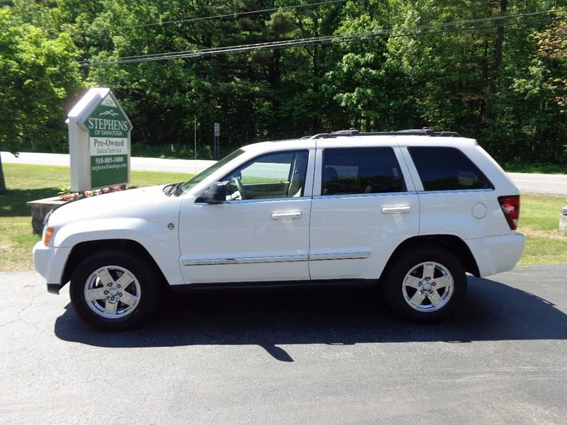 2006 Jeep Grand Cherokee Limited 4dr SUV 4WD w/ Front Side Airbags - Saratoga Springs NY