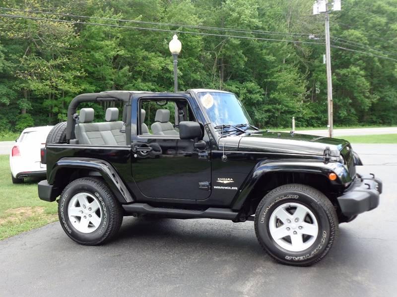 2007 Jeep Wrangler 4x4 Sahara 2dr SUV - Saratoga Springs NY
