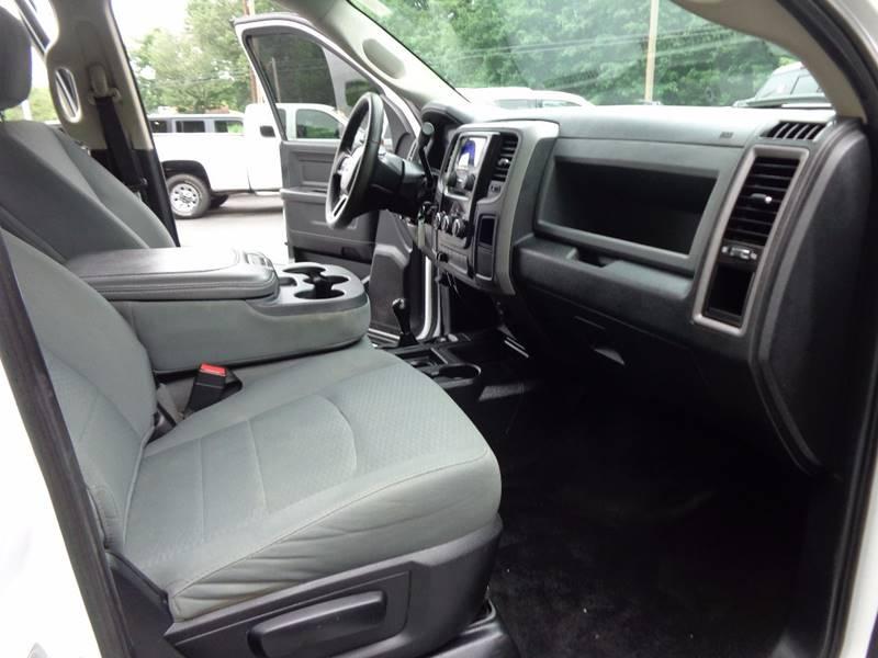 2014 RAM Ram Pickup 3500 4x4 Tradesman 4dr Crew Cab 8 ft. LB Pickup - Saratoga Springs NY