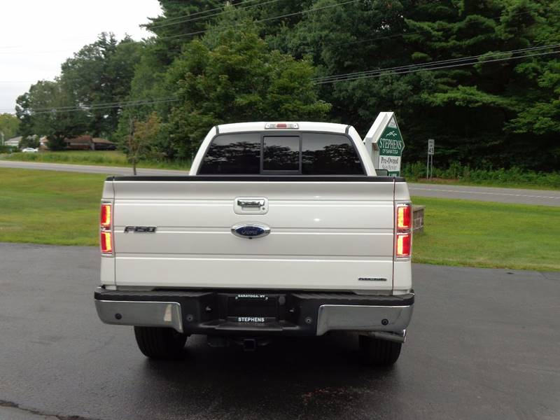 2012 Ford F-150 4x4 Lariat 4dr SuperCab Styleside 6.5 ft. SB - Saratoga Springs NY