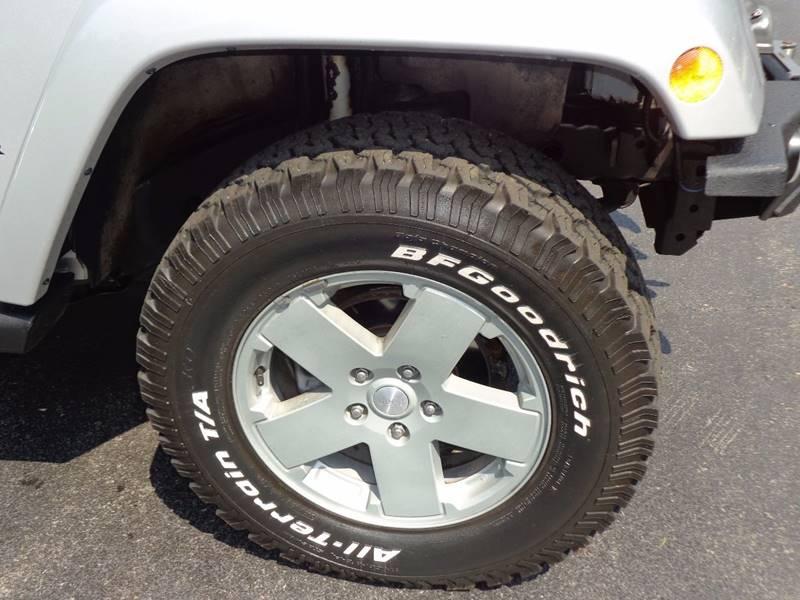 2010 Jeep Wrangler Unlimited 4x4 Sahara 4dr SUV - Saratoga Springs NY