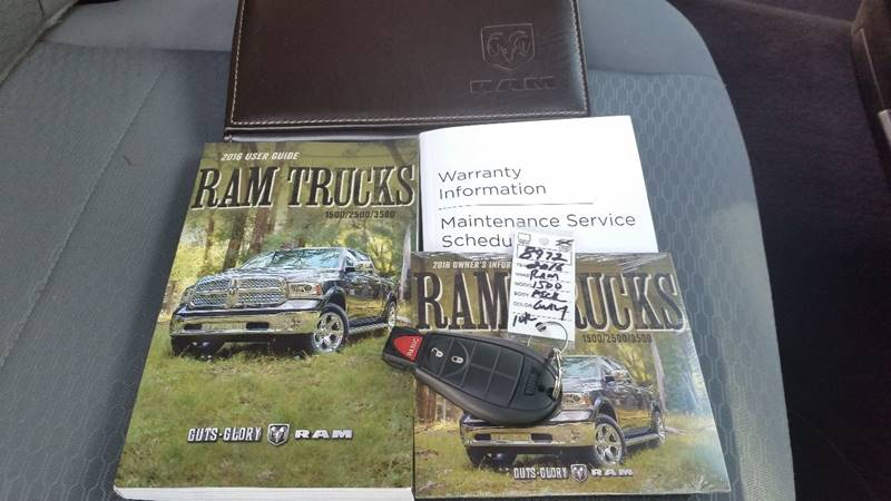 2016 RAM Ram Pickup 1500 4x4 SLT 4dr Quad Cab 6.3 ft. SB Pickup - Saratoga Springs NY