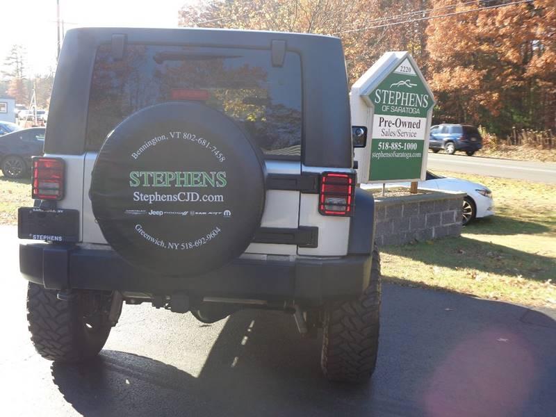 2010 Jeep Wrangler Unlimited 4x4 Sport 4dr SUV - Saratoga Springs NY
