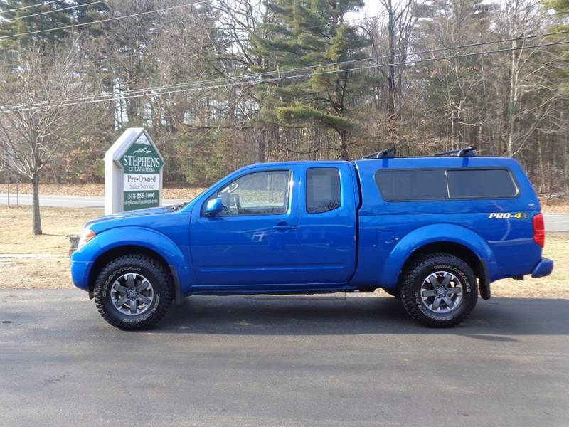 2014 Nissan Frontier 4x4 PRO-4X 4dr King Cab 6.1 ft. SB Pickup 5A - Saratoga Springs NY