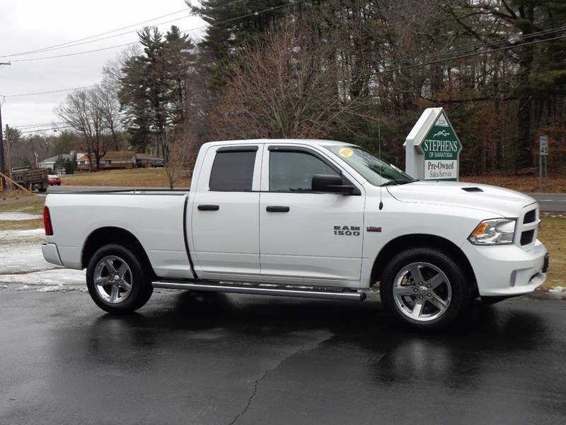 2014 RAM Ram Pickup 1500 4x4 Express 4dr Quad Cab 6.3 ft. SB Pickup - Saratoga Springs NY